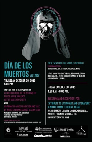 2015 Day of the Dead Flyer