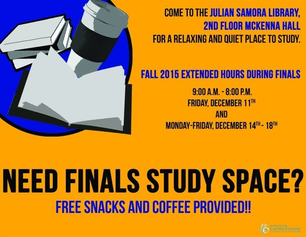 Fall 2015 Study Hours Flyer