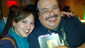Poets Francisco X Alarcon and Laurie Ann Guerrero