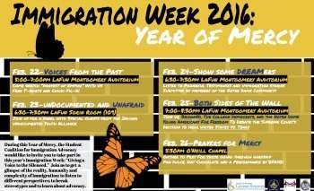 Immigration Week 2016