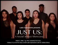 Just Us: a Social Justice Showcase