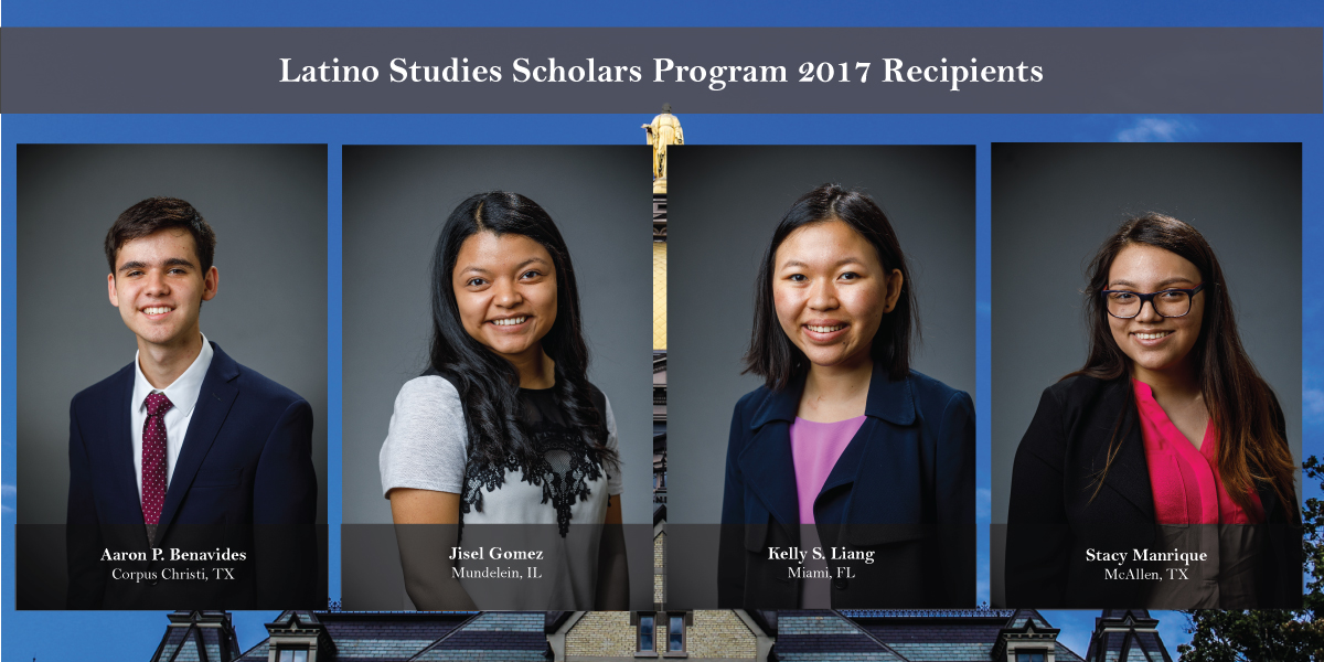 Latino Studies Scholars Program 2017 Recipients