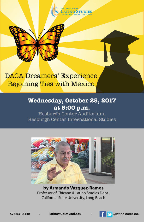 Daca Dreamer S Experience Rejoining Ties With Mexico Poster