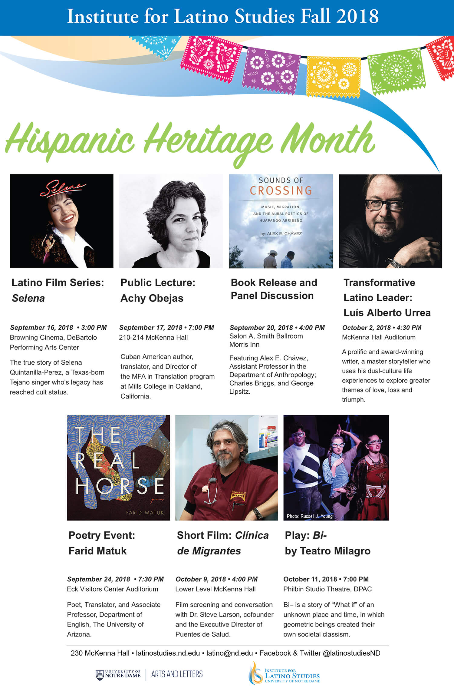 Hispanic Heritage Month Web