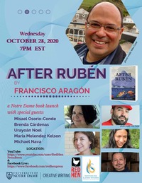 After Ruben Aragon Event Flyer