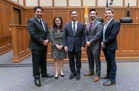Peter Gonzales and HLSA with Joaquin Castro