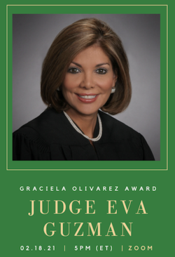 Judge Eva Guzman Graciela Award Flyer