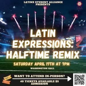 Latinx Halftime Remix Web Poster